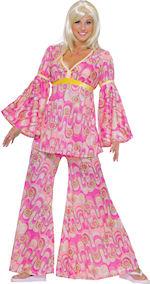 Хипи костюм на цветя Flower Power 60-те