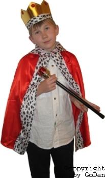 Карнавален костюм Крал