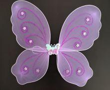 Криле на пеперуда - лилави