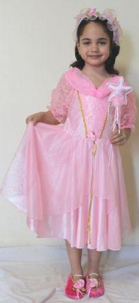 Принцеса - розова дантела