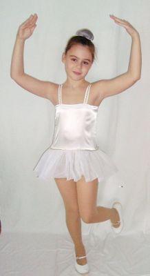 Карнавален костюм - Балеринка или Снежинка