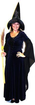 Вещица/Вдовица - черно кадифе