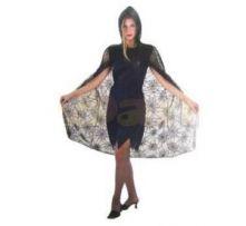 Карнавален костюм - Жена паяк - наметало