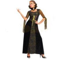 Карнавален костюм - Жена паяк-златиста