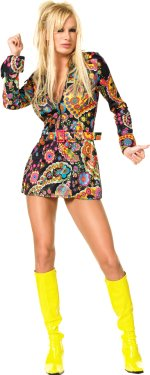 Костюм - Go-Go рокля 60-те