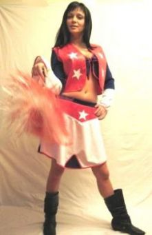 Карнавален костюм - Мажоретка