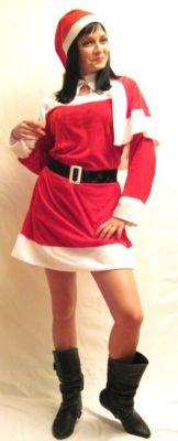 Карнавален костюм - Госпожица Коледа