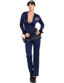 Карнавален костюм - Секси полицайка 2