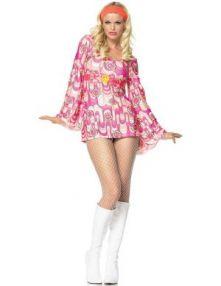 Карнавален костюм - Секси Хипи от 60-те