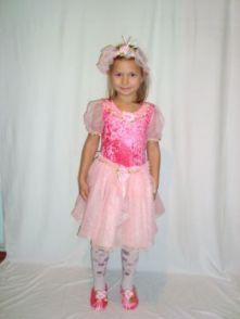 Карнавален костюм - Розов цвят