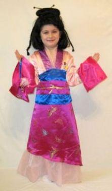 Карнавален костюм - Принцеса Мулан
