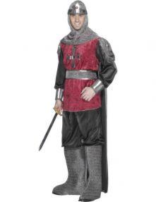Карнавален костюм Кръстоносец Крал от Средновековието