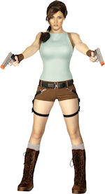 Карнавален костюм Lara Croft