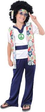Детски костюм - Хипи от 60s
