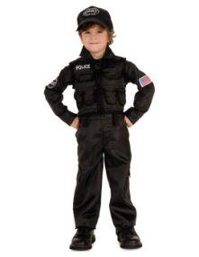 Детски костюм - Полицай SWAT Police