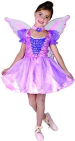 Детски костюм - малка лилава Фея