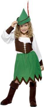 Детски костюм -  момичето на Робин Хут