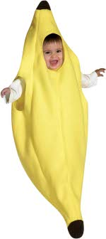 Детски костюм - Банан