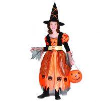 Карнавален костюм Вещица - Тиквена