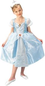 Детски костюм - Пепеляшка Лукс / Disney Deluxe Cinderella