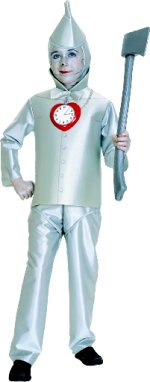 Детски костюм - Тенекиения човек - Tin Man