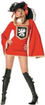 Карнавален костюм гард на кралицата - жена