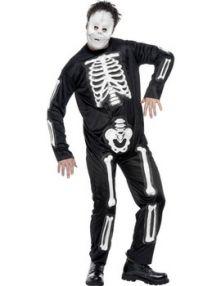 Карнавален костюм Скелет Хелоуин