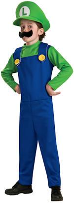 Детски костюм - Licensed Luigi