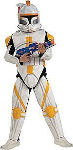 Детски костюм - Трупер командир- Между звезни войни- лукс DLX / Star Wars /