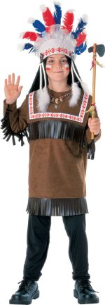 Детски костюм - Чероки войн / Cherokee