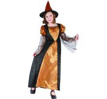 Карнавален костюм Вещица с оранжево