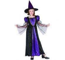 Карнавален костюм - Елегантна Вещица