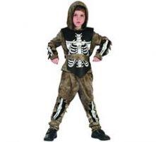Карнавале костюм Скелет Зомби