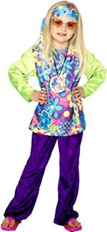 Детски костюм - малката Хипарка от 60s