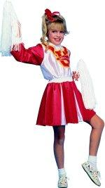 Детски костюм -  Клакьорка - червен