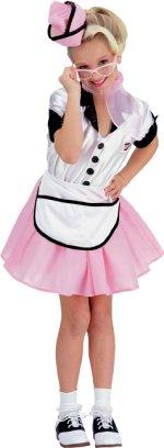 Детски костюм - Pop момиче на 50s