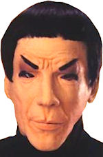 Маска - Spock/Star Trek