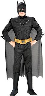 Детски костюм -Батман / Batman Delux от филма The Dark Knight