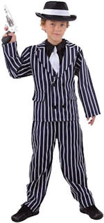 Детски костюм - Гангстер от 20s