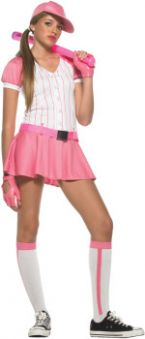 Карнавален костюм Бейзболистка