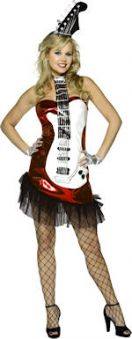 Костюм - Glam Rock китара черна