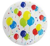 Картонена чиния с балони