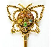 Вълшебна пръчица Пеперуда- светеща, златиста