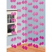 Гирлянд - декорация 40 гоишнина