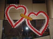 Сърца от балони