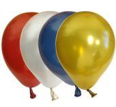 """Балони асорти Металик 6""""- 13см."""