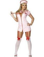 Карнавален Костюм Медицинска сестра  Секси (Sexy) Розова