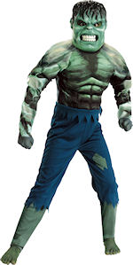 Детски костюм - Incredible Hulk Muscle Super Hero
