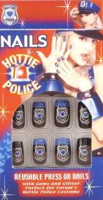 """""""Полицейски"""" нокти за многократна употреба"""