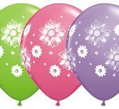 Балони с Маргаритки асорти  11'' (28см.)
